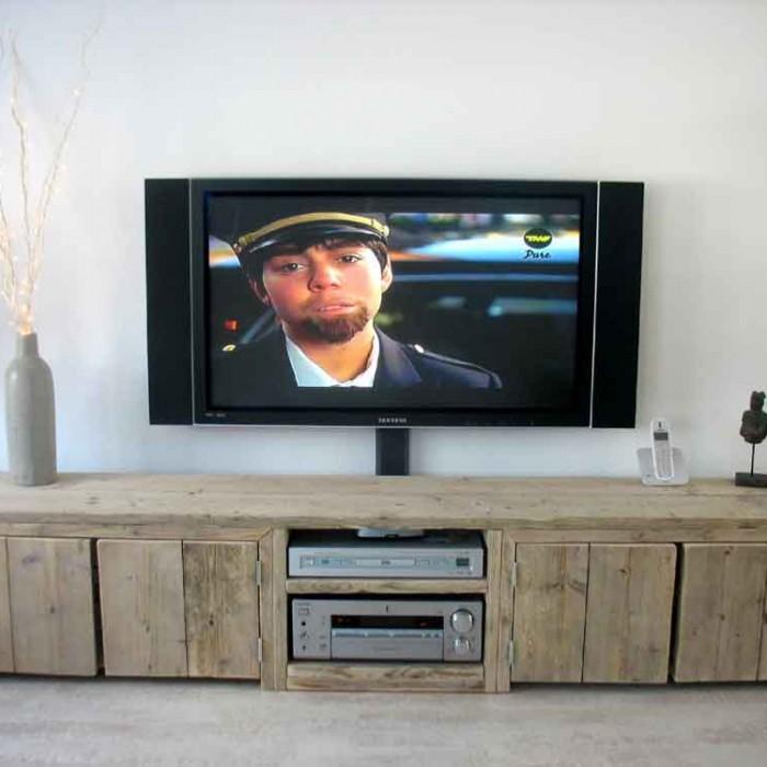 Zelfgemaakte Tv Kast Javier Aangepaste Versie Pictures to pin on ...